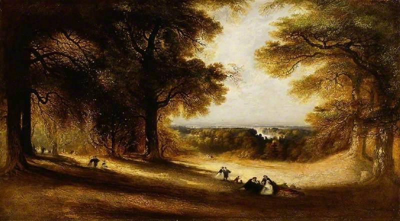 Landscape: View in Richmond Park