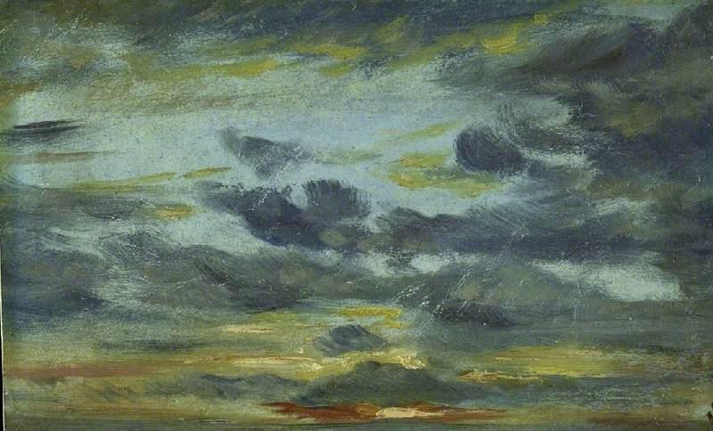 Sky Study, Sunset