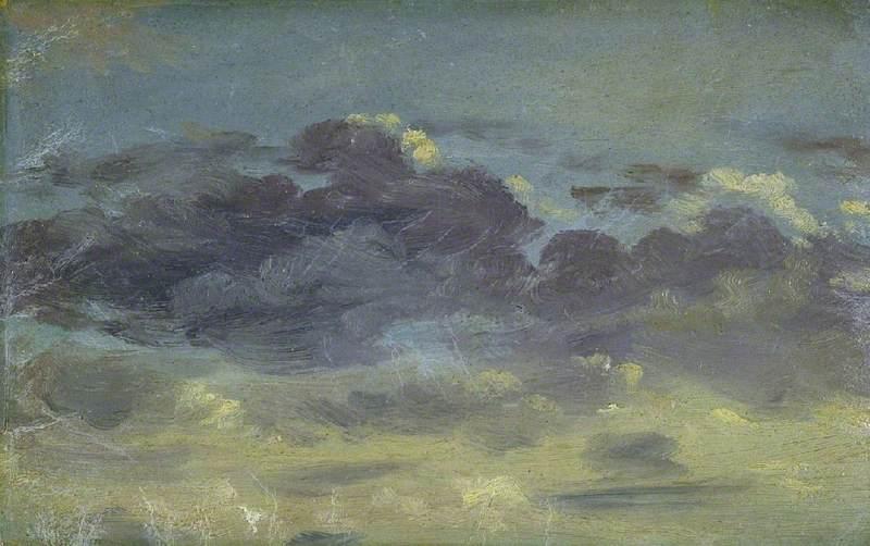 Sky Study with Mauve Clouds