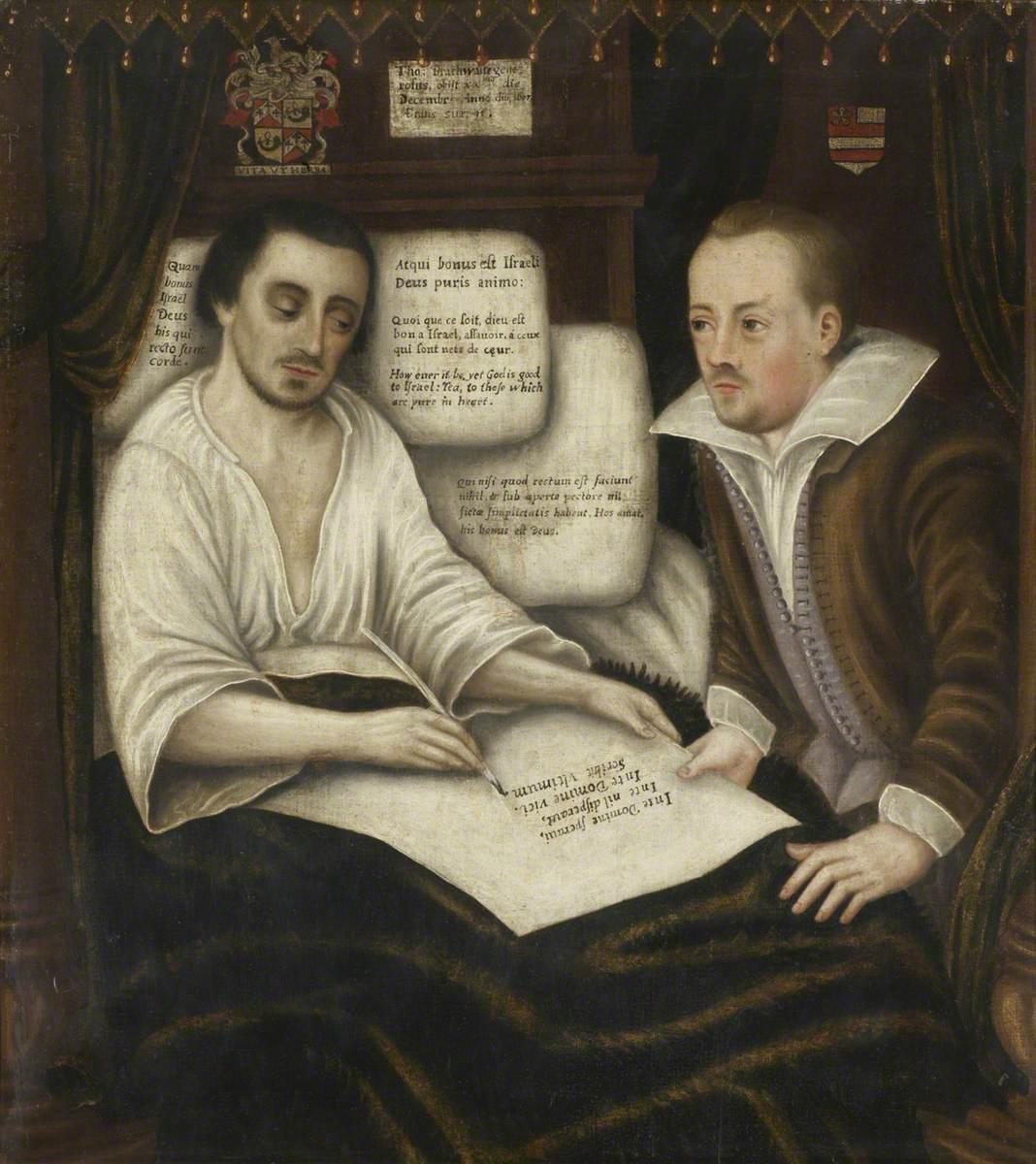 Thomas Braithwaite of Ambleside Making His Will