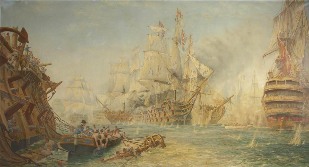 'Victory' at Trafalgar
