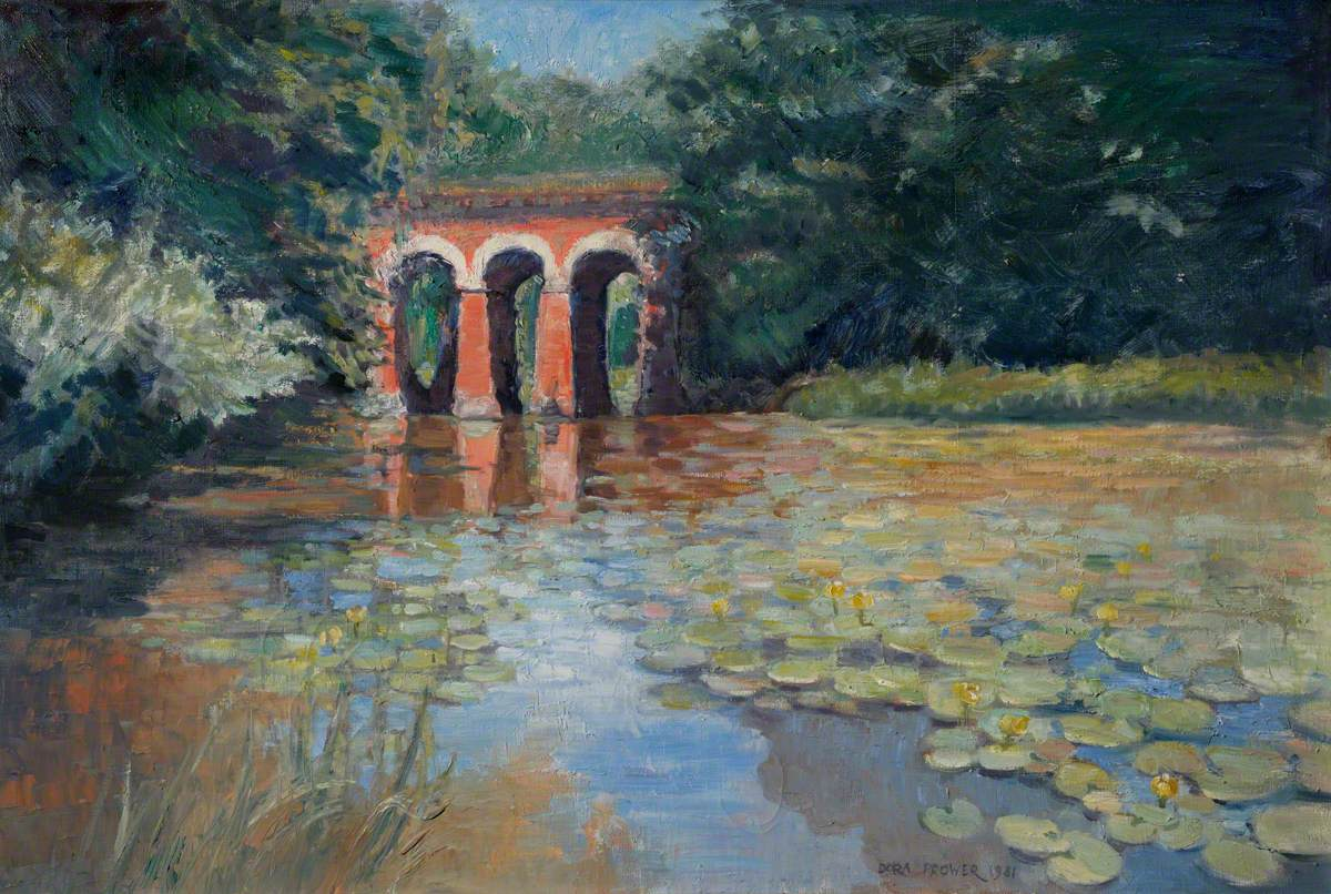 The Viaduct Pond on the Heath