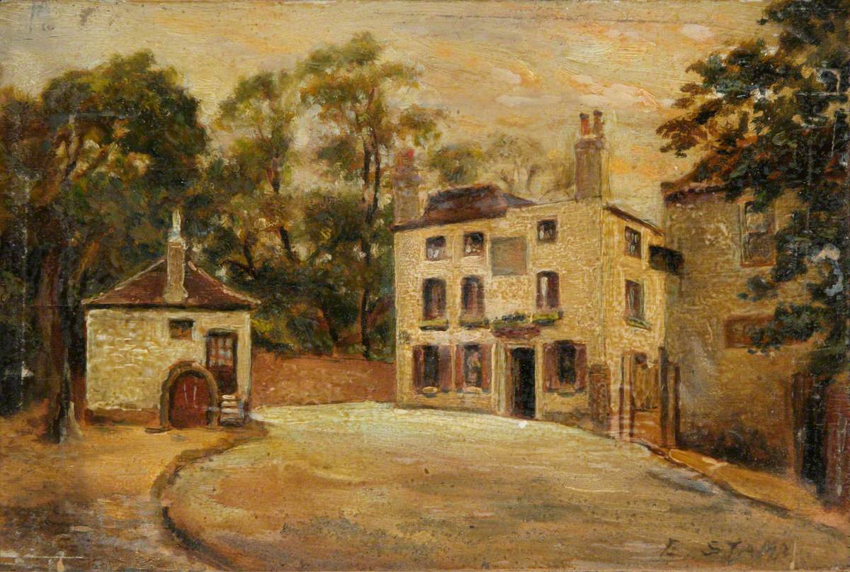 The 'Spaniards Inn', October