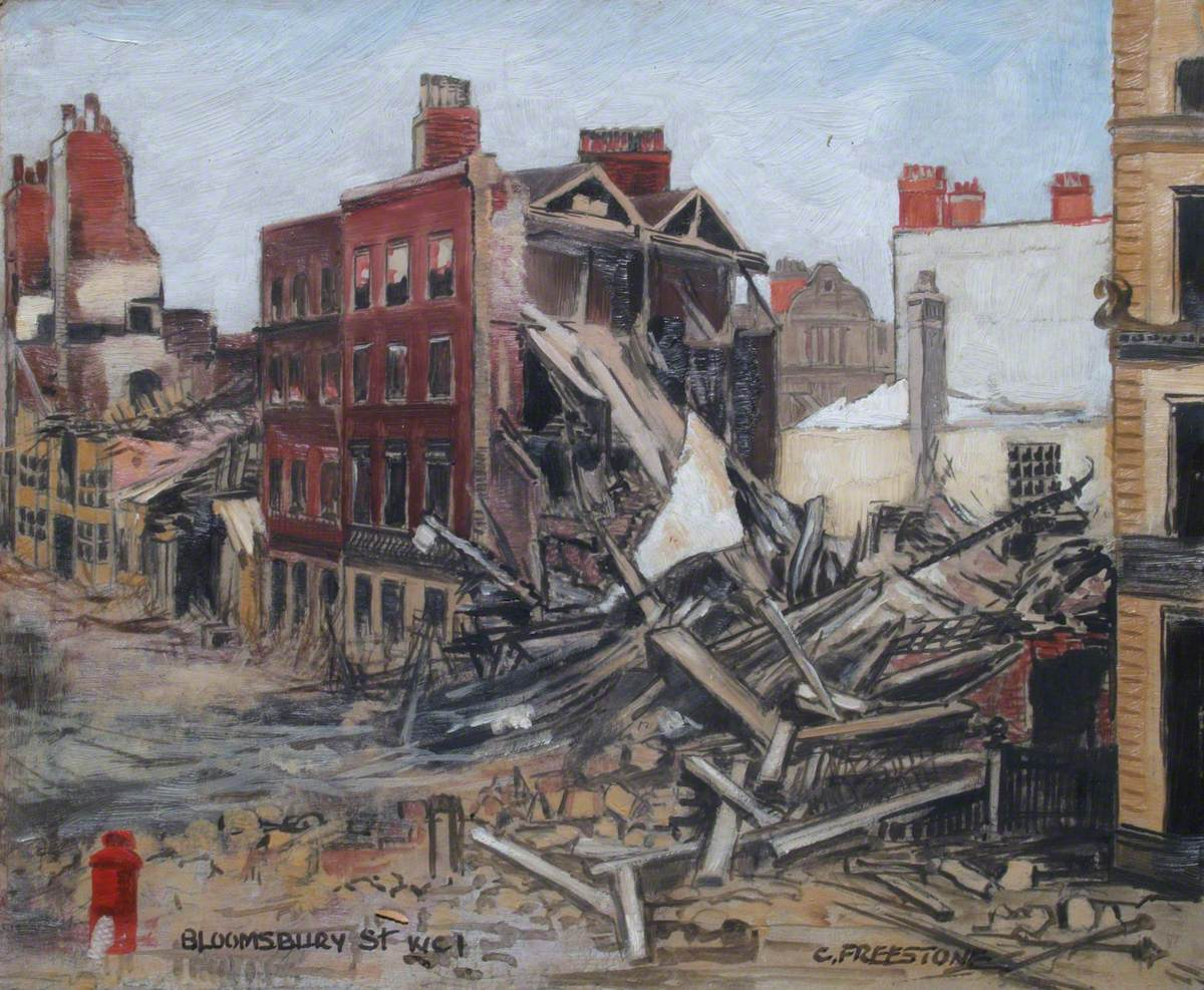 Bloomsbury Street (Bomb Damage)