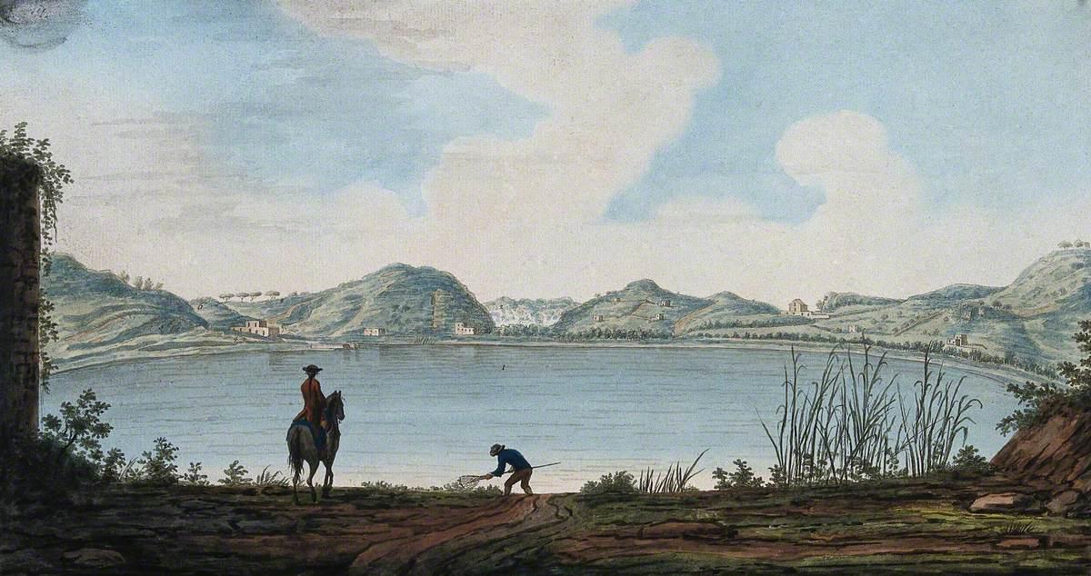 The Lake of Agnano