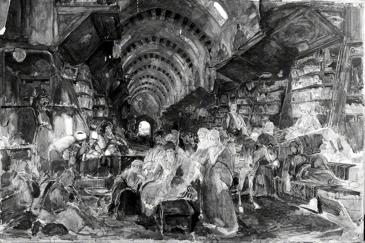 The Egyptian or Drug Bazaar at Constantinople