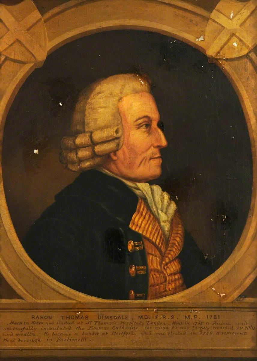Thomas Dimsdale (1712–1800), Baron Dimsdale