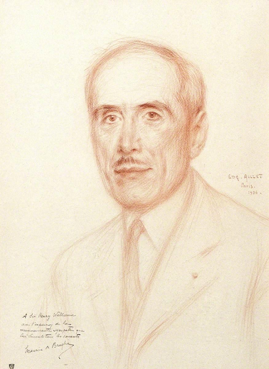 Maurice De Broglie, Duc De Broglie, Member of the Institut Français