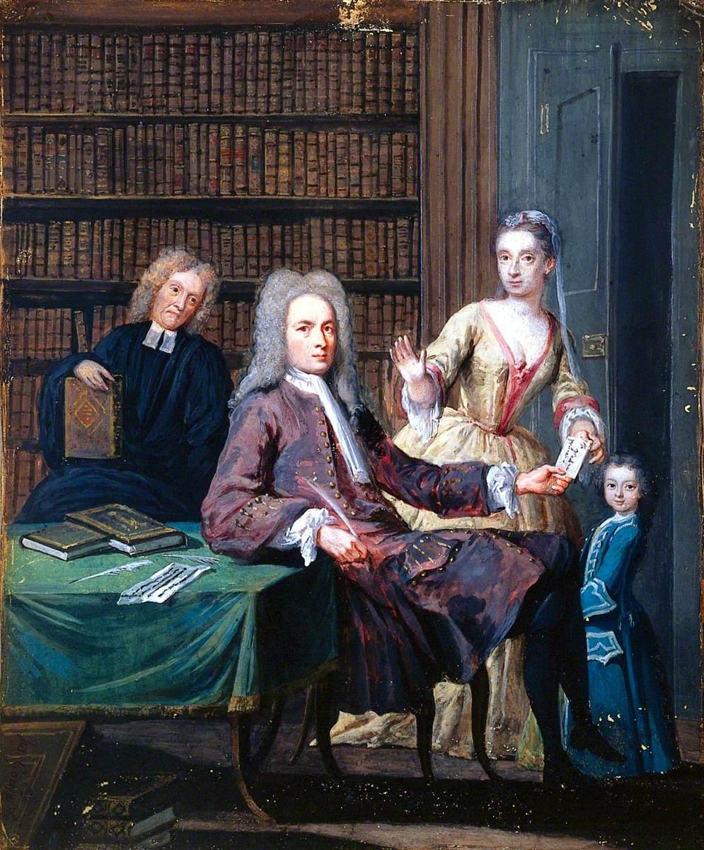 Jean Misaubin and His Family