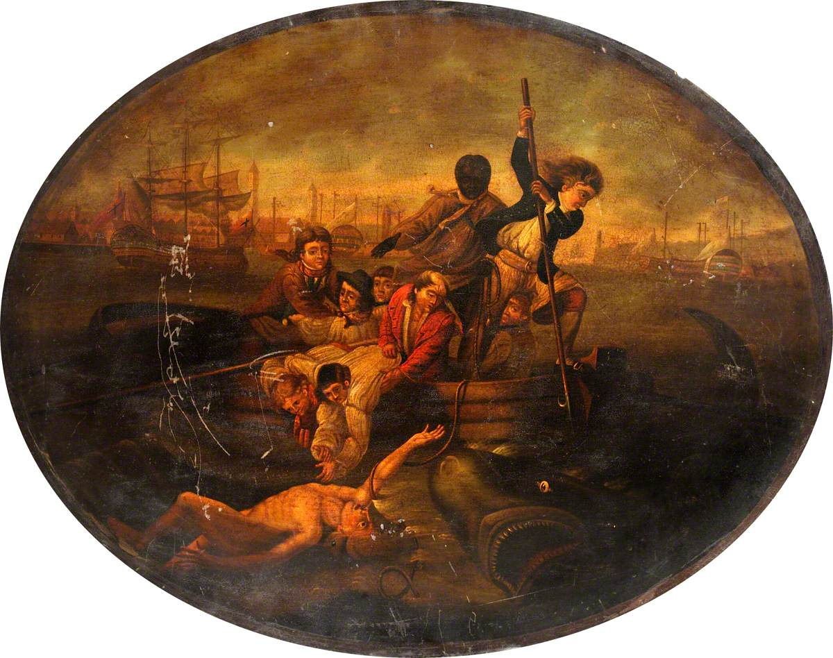 Brook Watson Being Attacked by a Shark in Havana Harbour, 1749