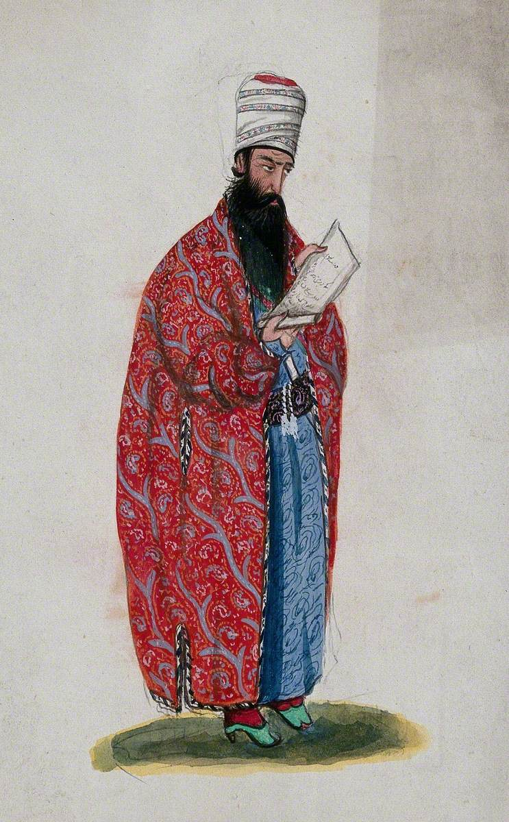 An Unidentified Persian Astrologer or Mathematician