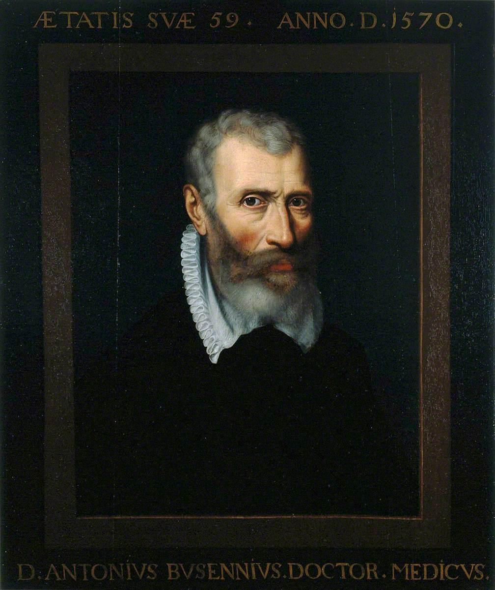 Antonius Busennius, Professor of Medicine at Louvain (1548–1550), City Physician of Antwerp, Medical Humanist