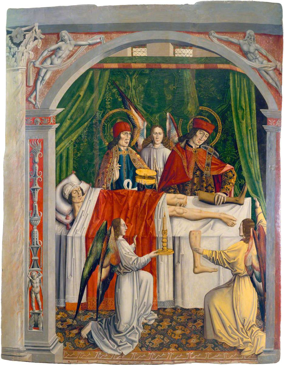 A Verger's Dream: Saints Cosmas and Damian Performing a Miraculous Cure by Transplantation of a Leg