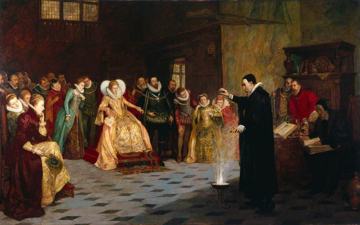 John Dee Performing an Experiment before Elizabeth I