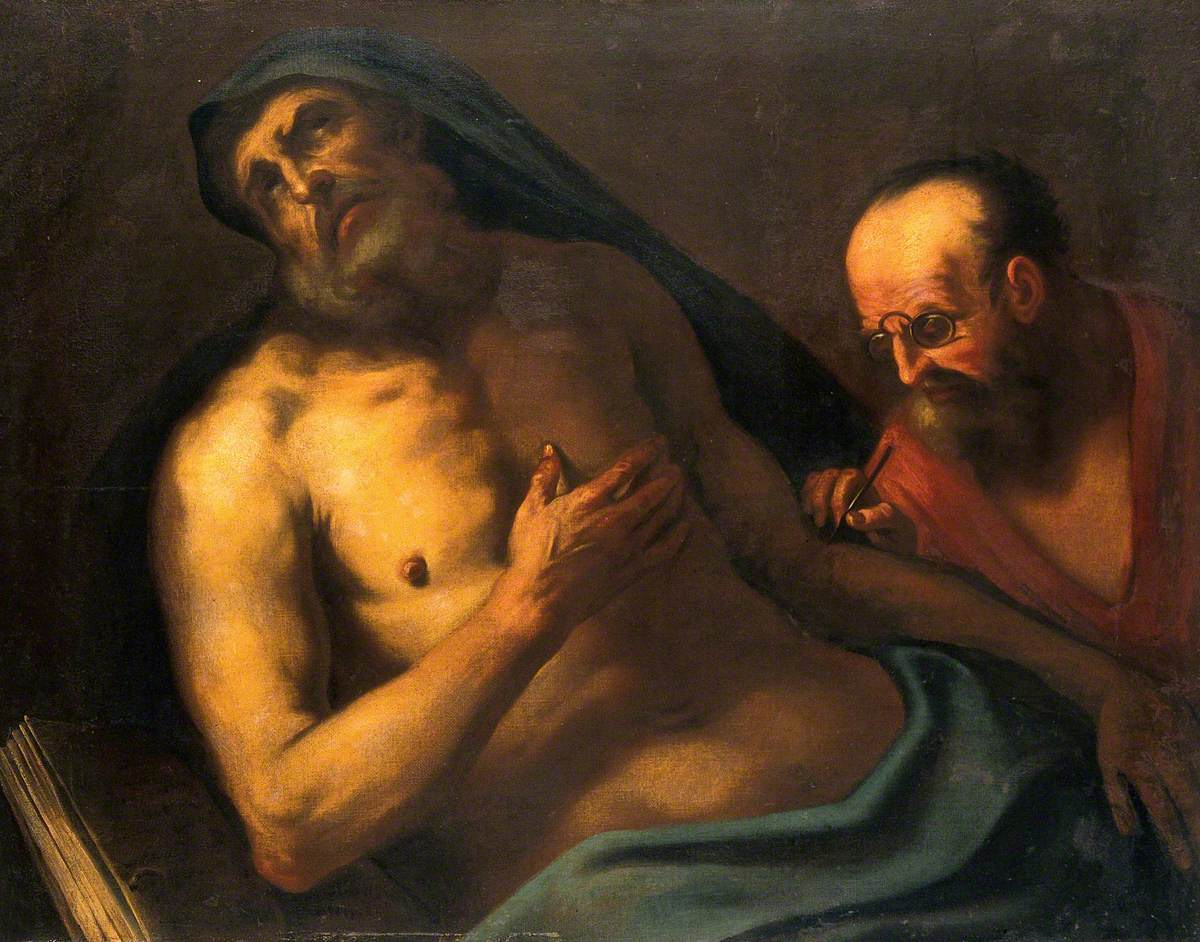 A Man Attended by a Surgeon