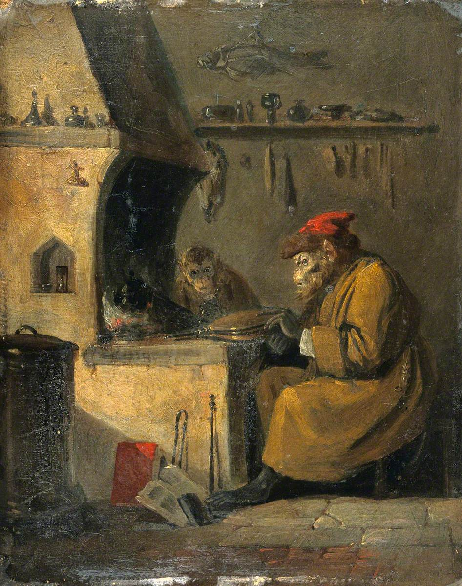 A Monkey Alchemist