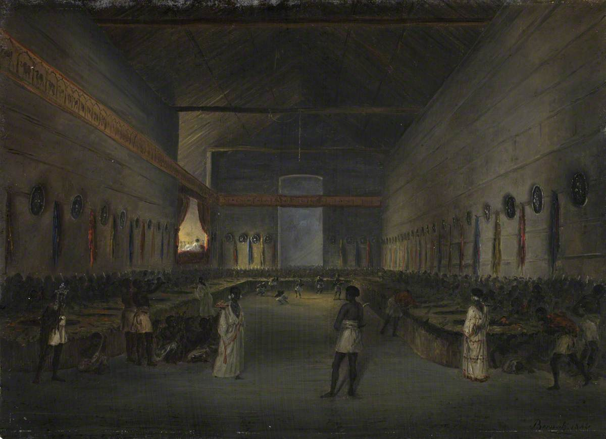 The Celebration of Easter in the Palace at Ankobar, 1842