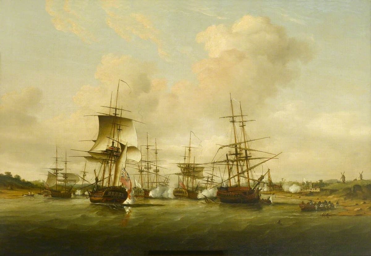Action off the Coast of France, 13 May 1779