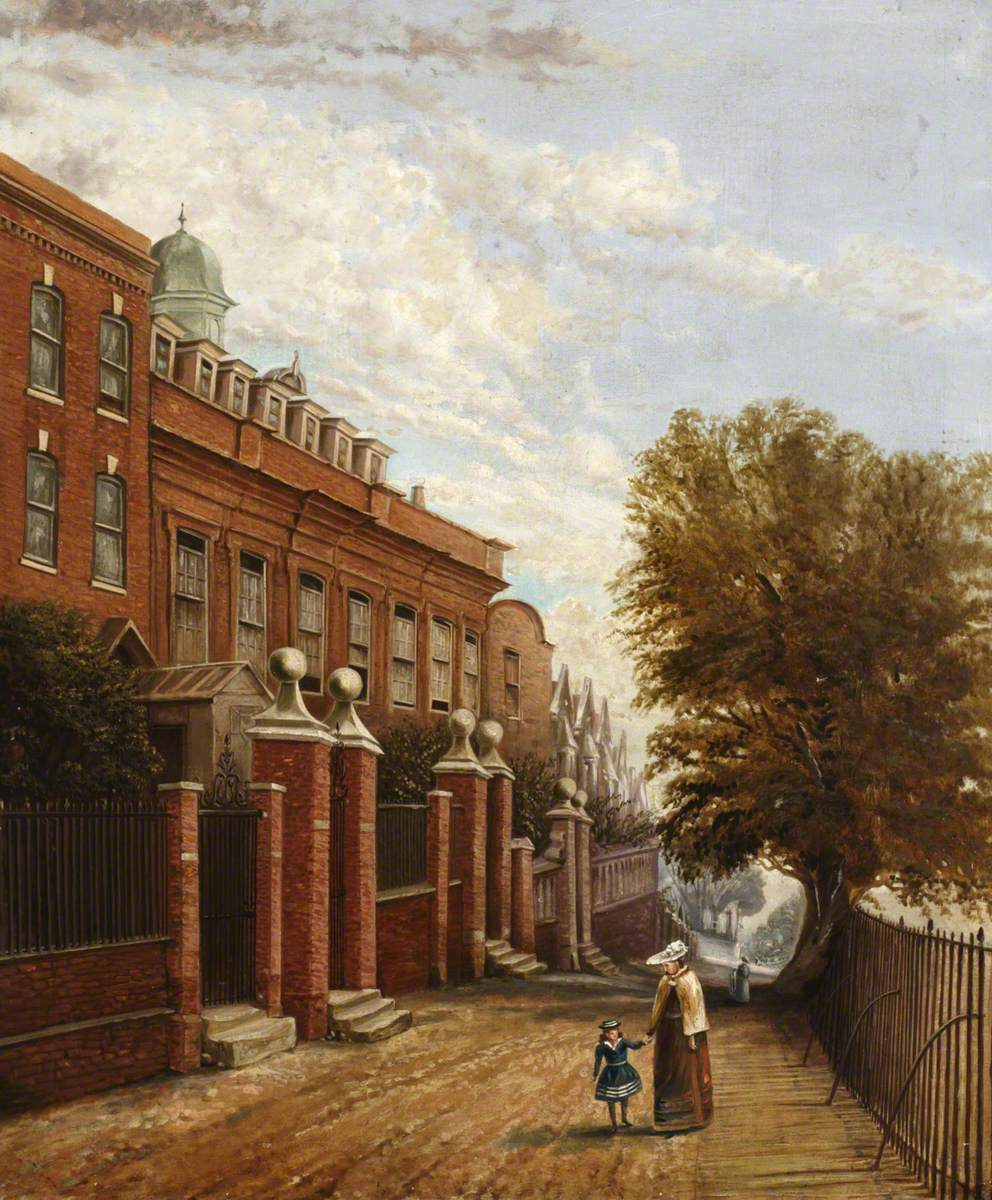 Cromwell House, The Bank, from the North West