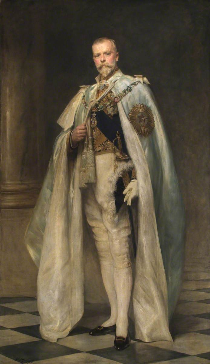 Right Honourable Arthur Oliver Villiers Russell (1869–1935), 2nd Baron Ampthill, GCSI, GCIE