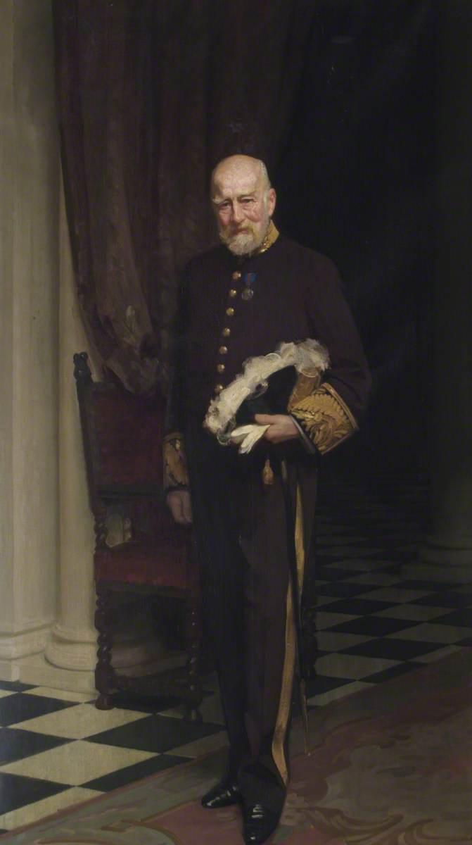 Right Honourable Sir Frederick Halsey (1839–1927), 1st Bt