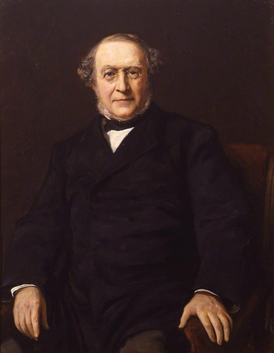 Sir Alfred Barring Garrod (1819–1907)