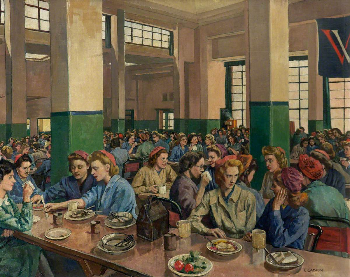 Women Workers in the Canteen at Williams & Williams, Chester