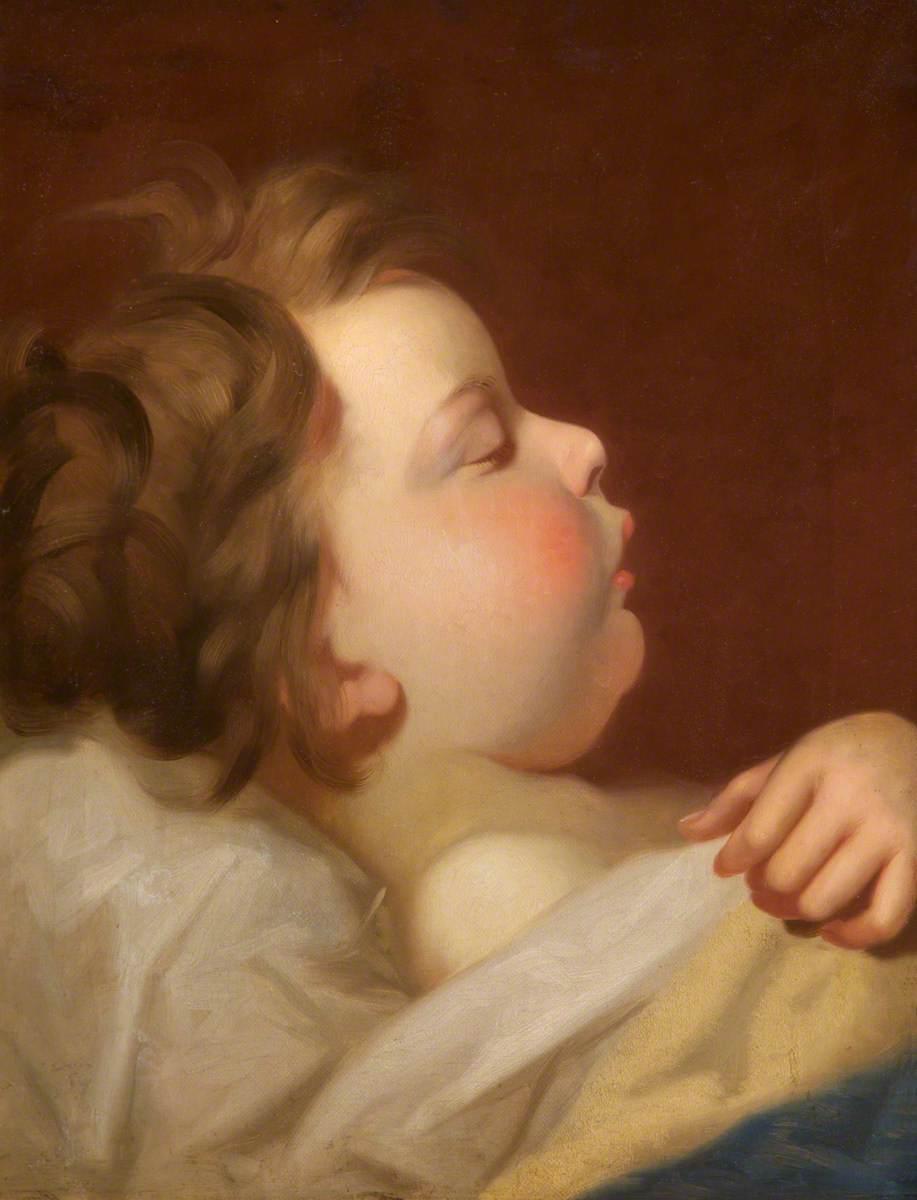 Asleep: The Artist's Son, Albert Edwin Gillard (1859–1954)