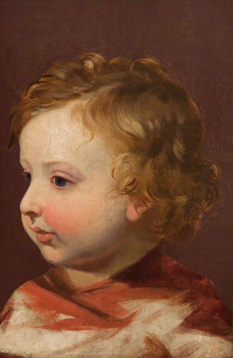 Awake: The Artist's Son, Albert Edwin Gillard (1859–1954)