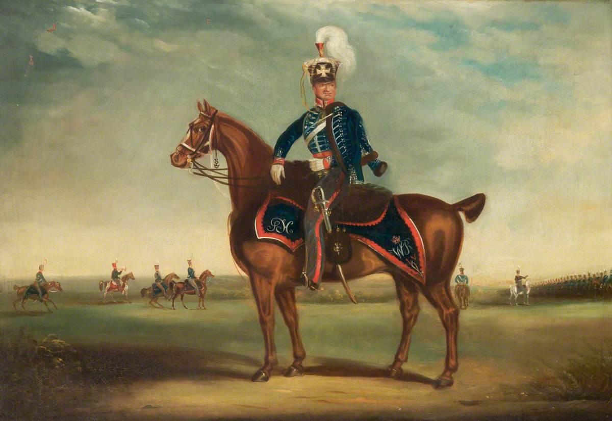 Captain of the Cheshire Yeomanry