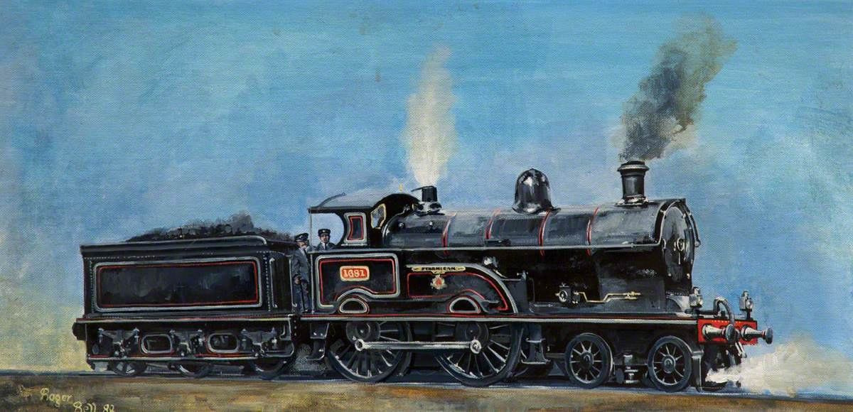 LNW Railway 4–4–0 'Ptarmigan'