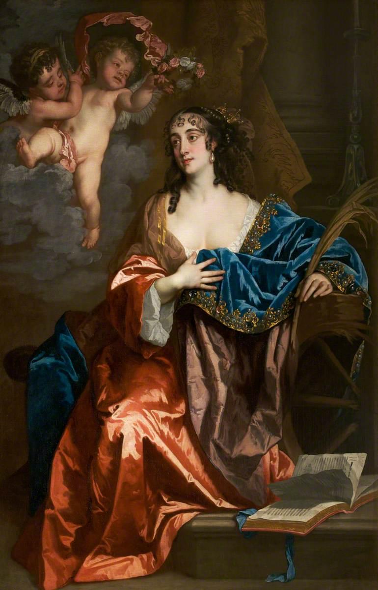 Eleanor Needham (c.1627–1663/1664), Lady Byron, as Saint Catherine