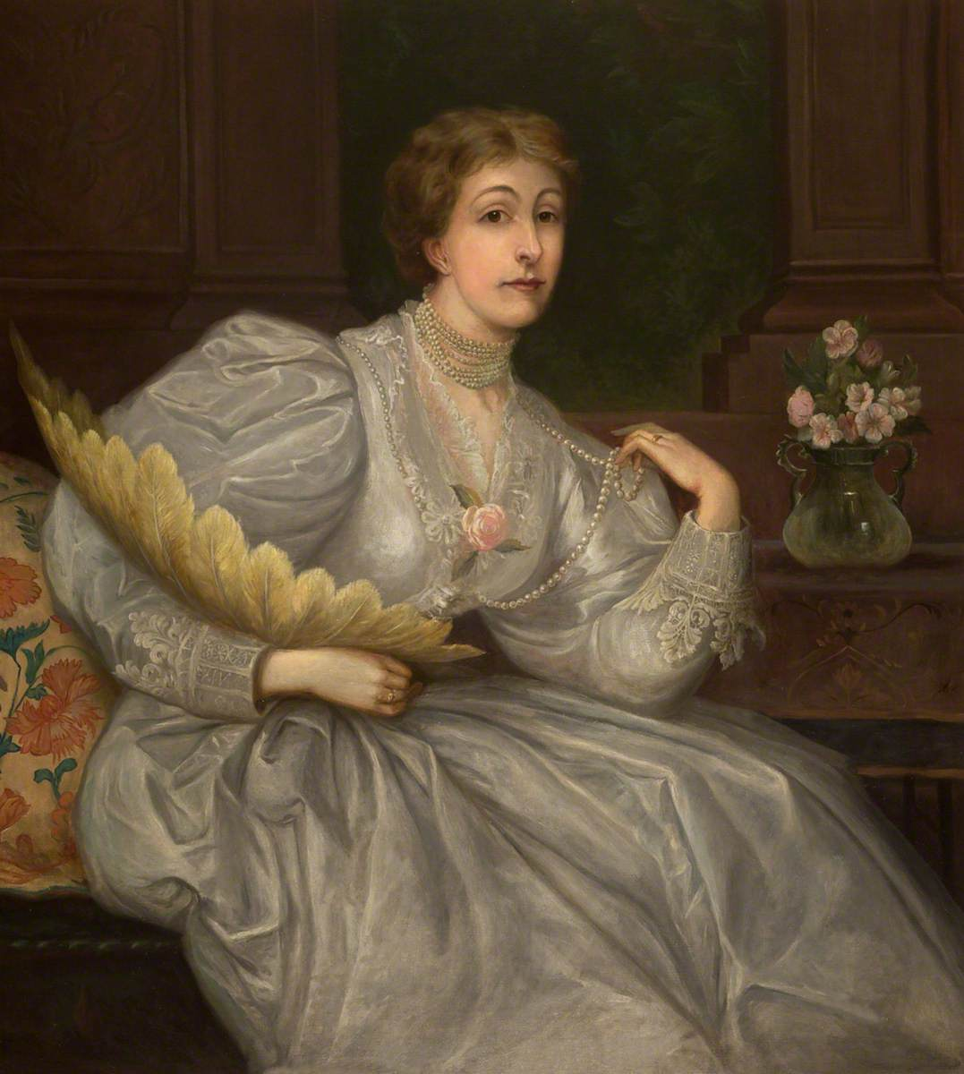 The Honourable Eleanor Leicester Leighton-Warren (1841–1914)