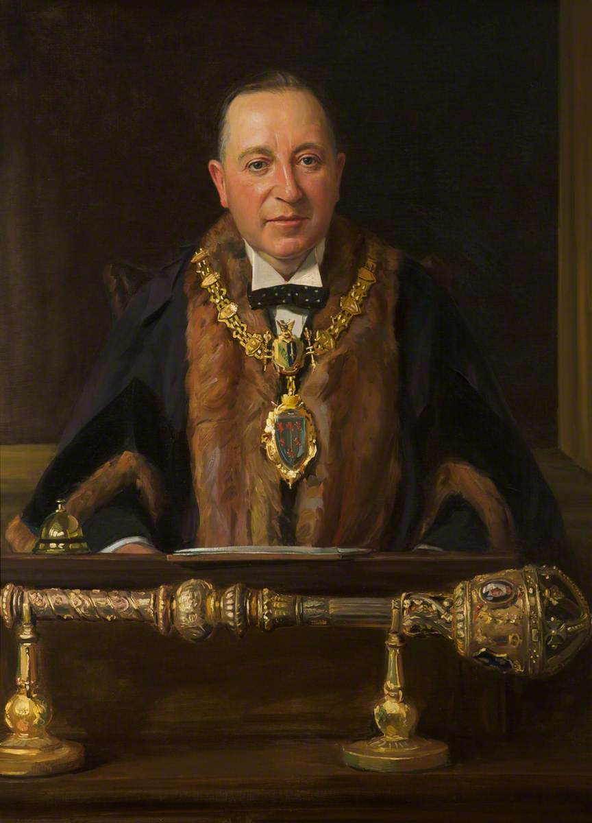 Austin Matthew Crowe, JP, Mayor of Warrington (1933–1935)