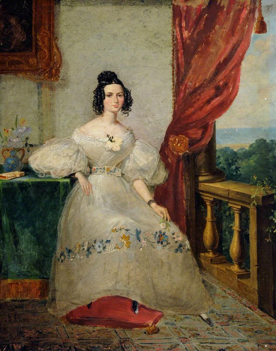 Louisa Lamb, Wife of John Aubin