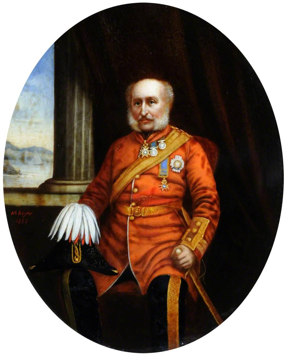 Major General James F. Love, Lieutenant Governor of Jersey (1852–1857)