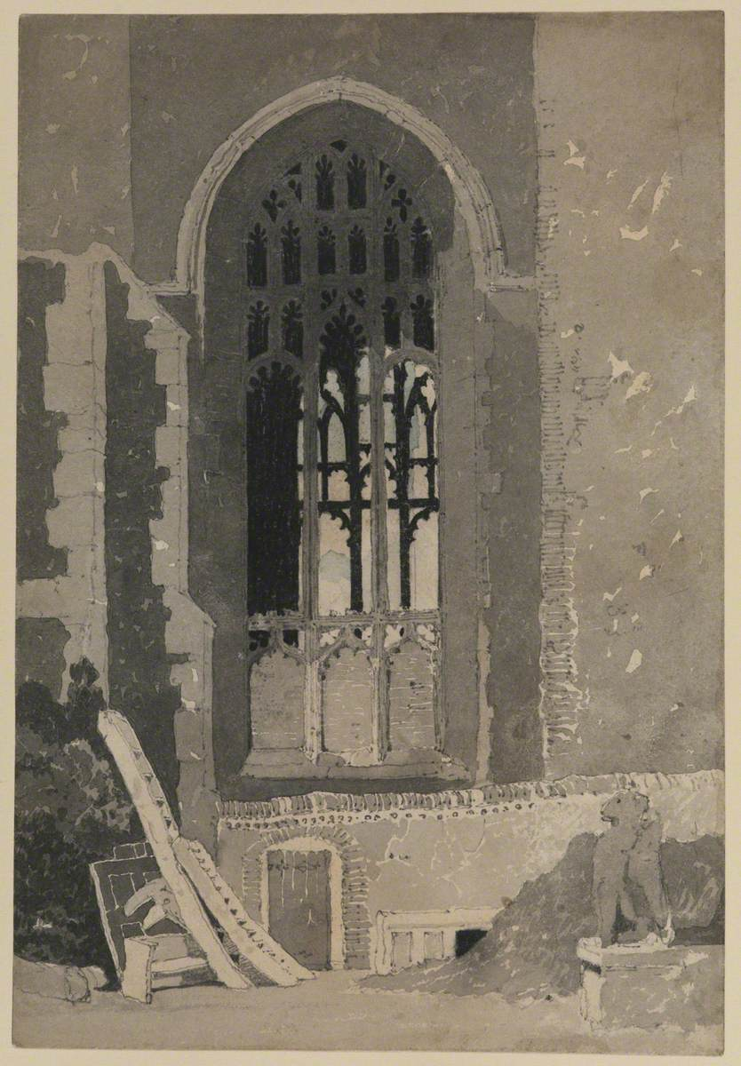 The Window between Saint Andrew's Hall and the Dutch Church, Norwich