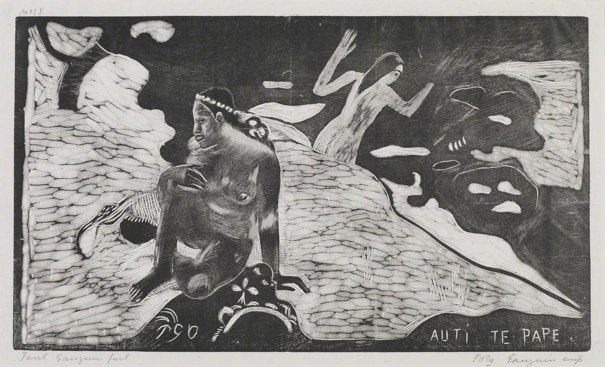 Auti Te Pape (The Women at the River)