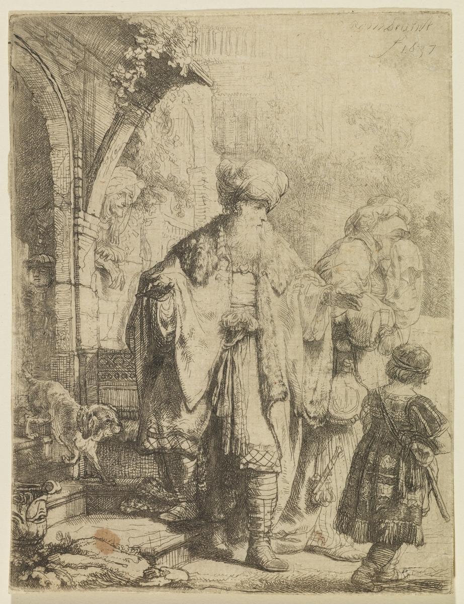 Abraham Casting Out Hagar