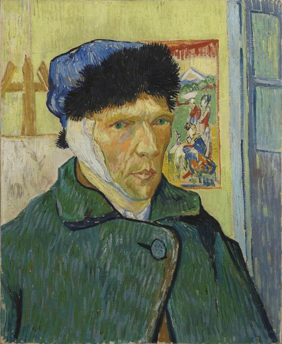 Self-Portrait with Bandaged Ear