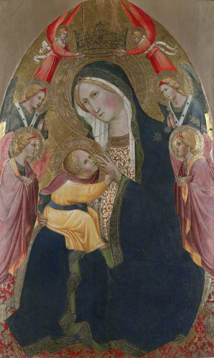 Madonna of Humility with Adoring Angels