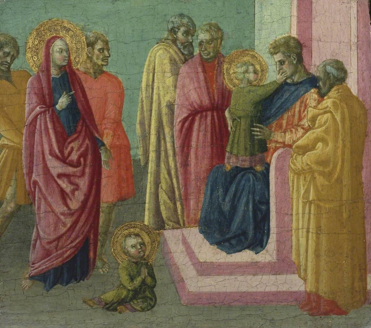 Saint Quiricus Slaps the Judge
