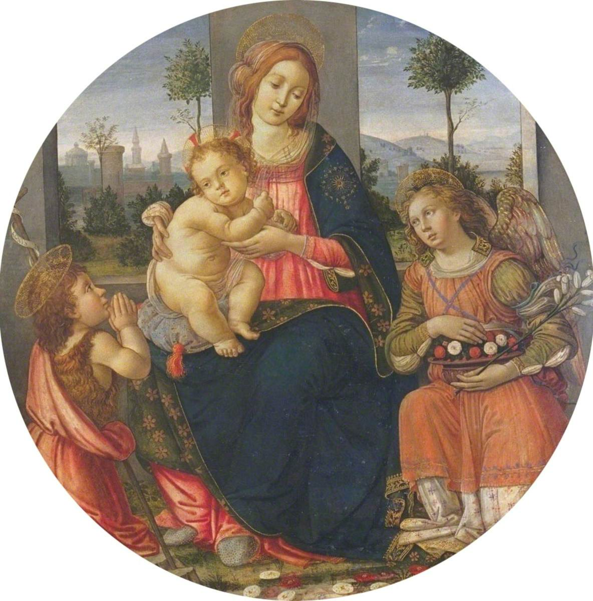 Virgin and Child with the Infant Saint John and an Angel