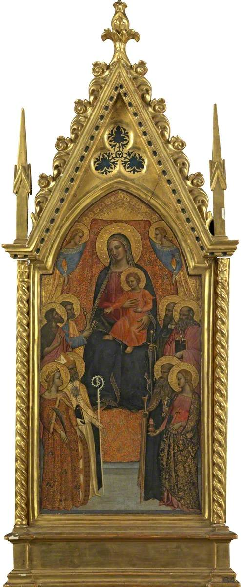 Virgin and Child Enthroned with Eight Saints