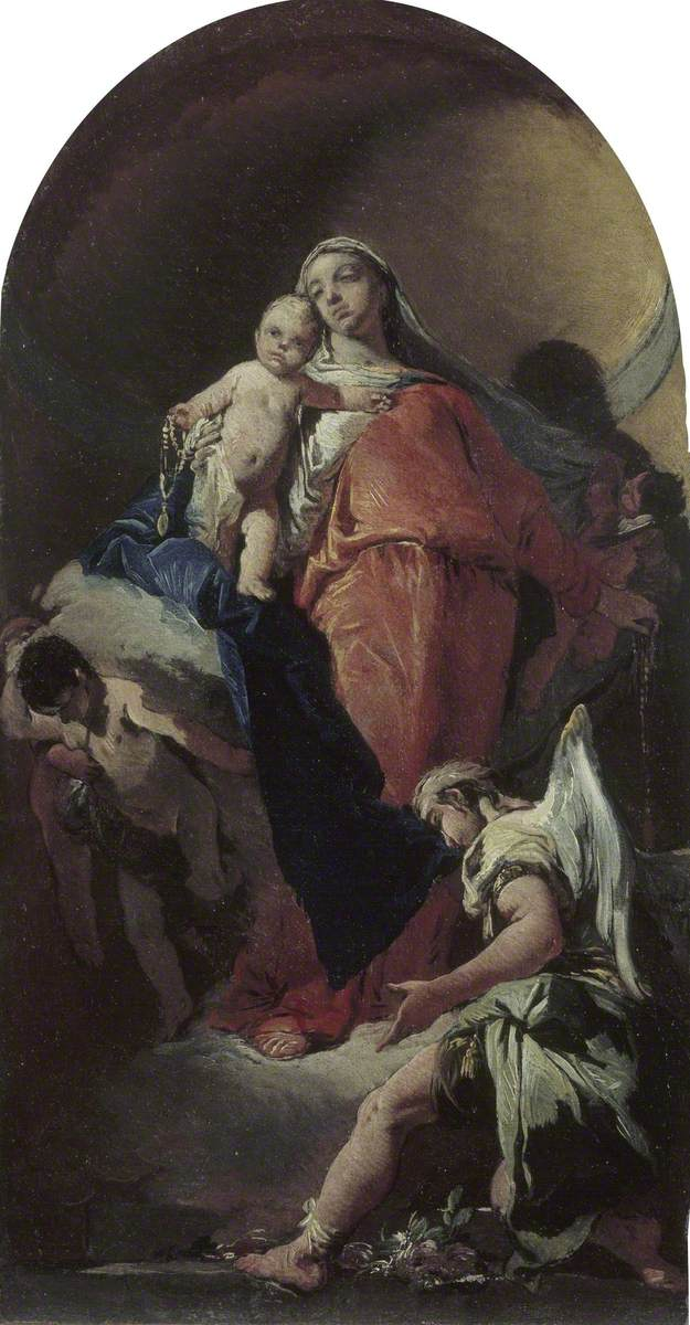 Virgin and Child with an Angel