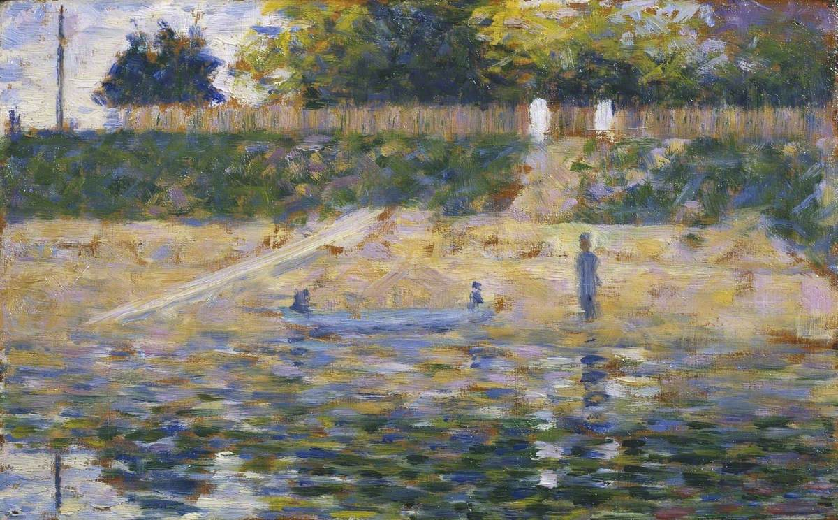 Boat by the Bank, Asnieres