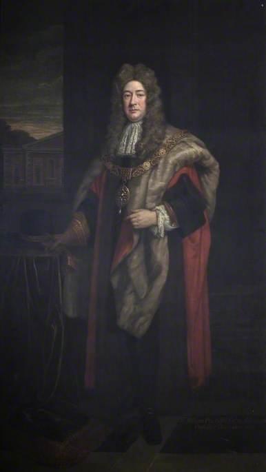 William Prichard, President of St Bartholomew's Hospital