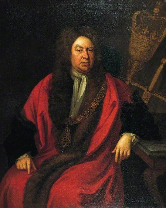 Sir Gilbert Heathcote (1652–1733), One of the Founders of the Bank of England