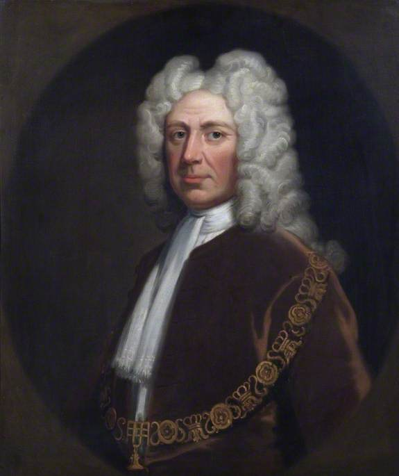 Sir Thomas Abney (1640–1722), One of the Founders of the Bank of England