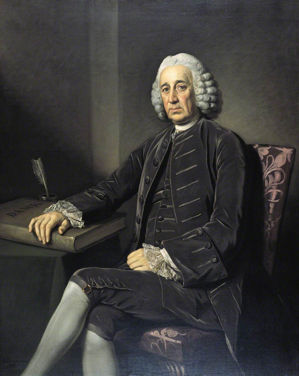 Bartholomew Burton (c.1695–1770), Governor of the Bank of England (1760–1762)